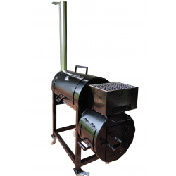 Barbeque Smoker & Grill-Box Novo Industries Barbeque Smoker & Grill-Box