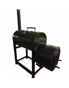 Novo Industries Barbeque Grill and Smoker